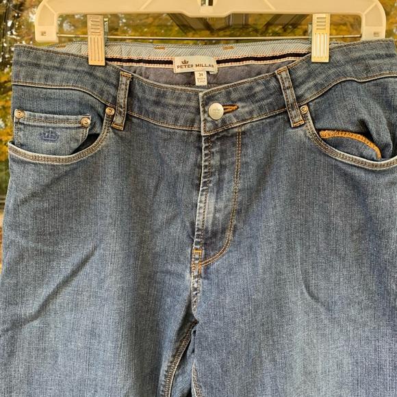 Peter Millar Men's Blue Jeans Size 34 x 34
